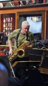 Bob Leonard - bari sax Rex Hotel Orchestra