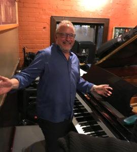 Brian Dickinson - piano Rex Hotel Orchestra
