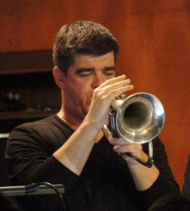 Jason Logue - trumpet Rex Hotel Orchestra