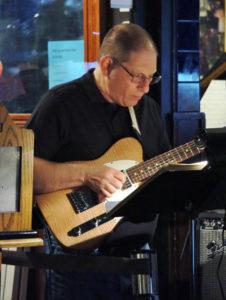 Joey Goldstein - guitar Rex Hotel Orchestra