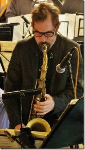 Perry White - tenor sax Rex Hotel Orchestra