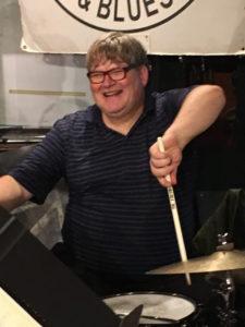 Ted Warren - drums Rex Hotel Orchestra