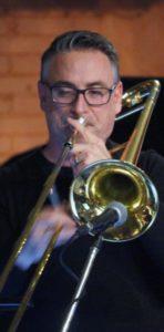 Terry Promane -trombone Rex Hotel Orchestra